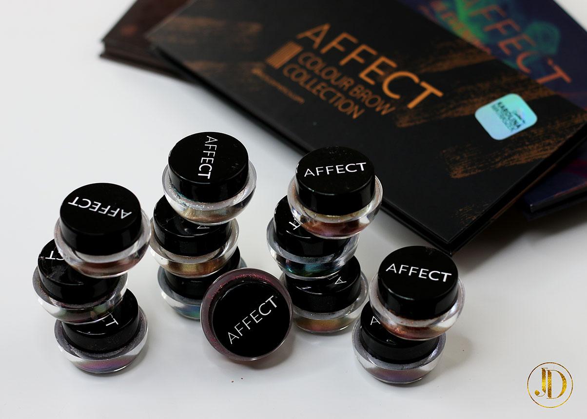 NAJWSPANIALSZE PIGMENTY EVER! - Affect Cosmetics x Karolina Matraszek - Zodiac Signs Pigments
