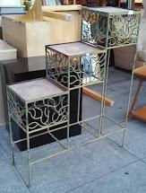 "Uhuru Furniture & Collectibles Sold Vintage Iron 38"" X 48"