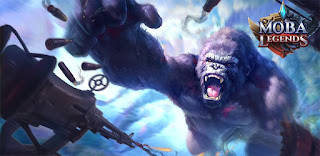 MOBA Legends Kong Skull Island Apk v1.3.2.2 Mod Unlocked Terbaru