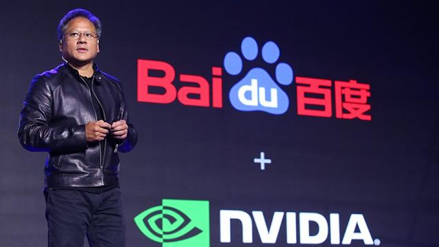 تعاون بين إنفيديا وبايدو لتطوير منصة ذكاء صناعى