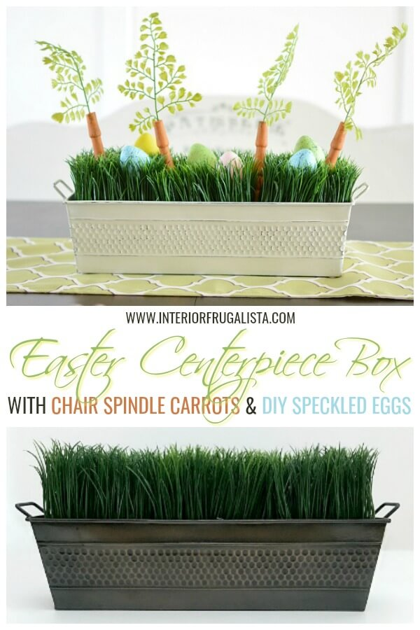 Adorable Upcycled Easter Centerpiece Box