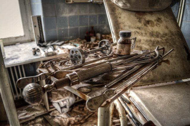 La fantasmagórica clínica abandonada de un médico alemán