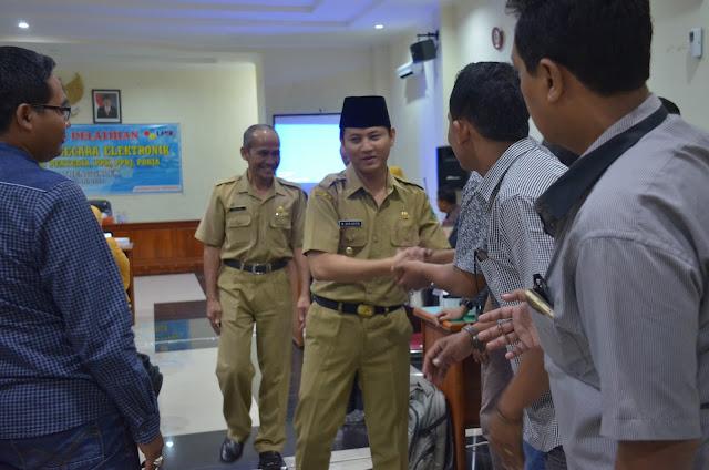 Plt. Bupati Nur Arifin Sosialisasikan SPSE  Versi 4.2 Terbaru Wujudkan Sarana Pengadaan Barang/Jasa Yang Lebih Baik