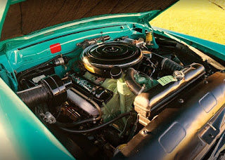 1956 Lincoln Premiere Convertible Engine