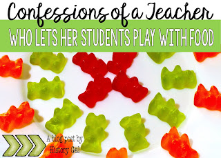 Confessions of a Teacher Who Lets Her Students Play with Food by History Gal
