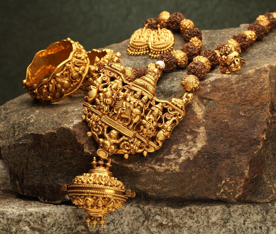 Indian Gold Jewellery From Websites For: Indian Jewellery And Clothing: Awesome Antique Temple