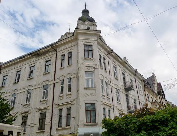 Черновцы. Улица Кобылянской, 51. 1907 г.