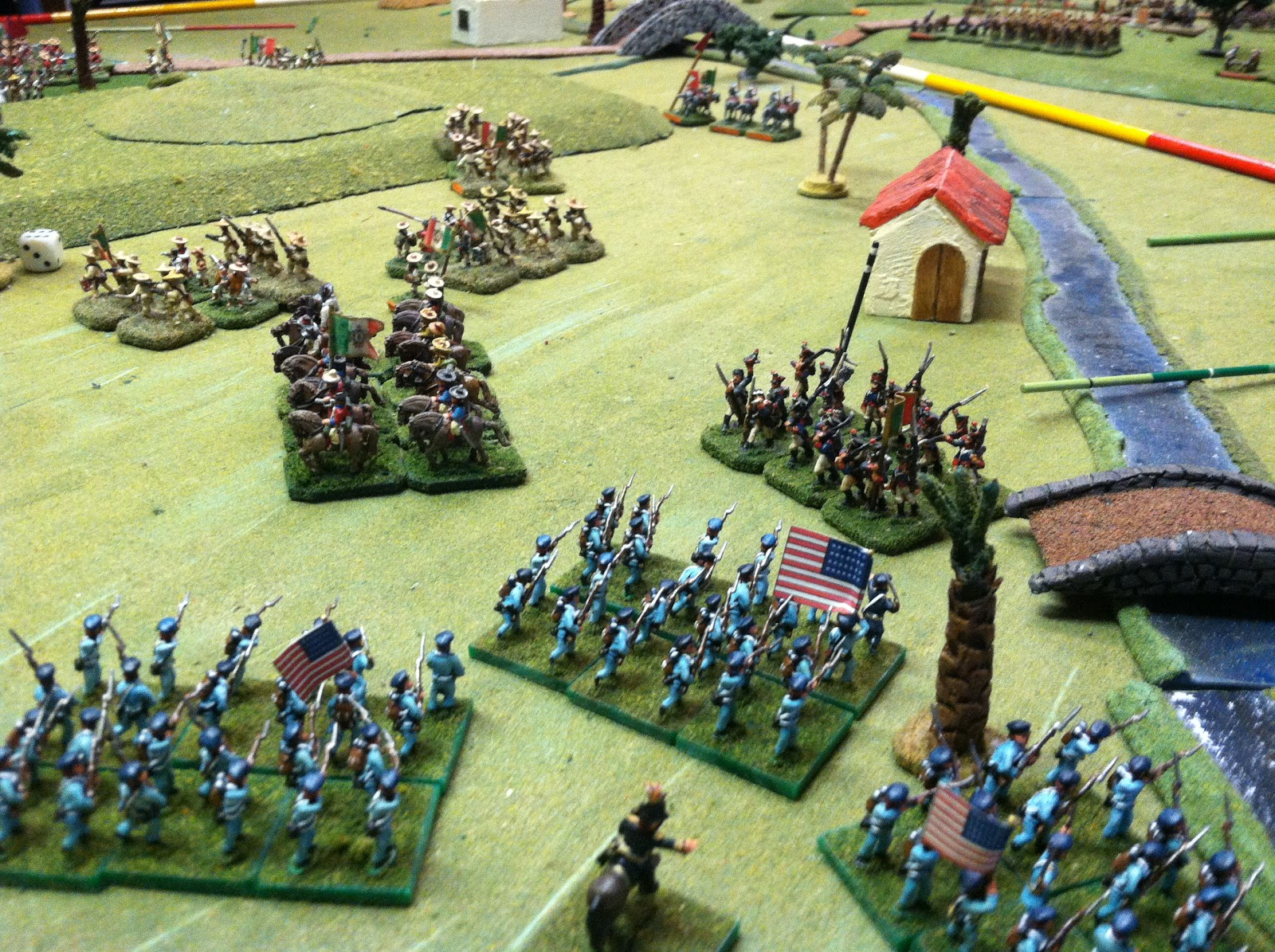 Gaming With Chuck 15mm Wargaming Mexican American War