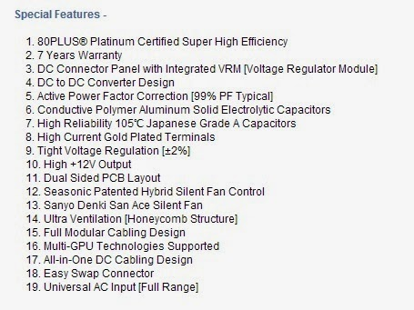 Unboxing & Overview: Seasonic Platinum Series 860W Power Supply Unit 47