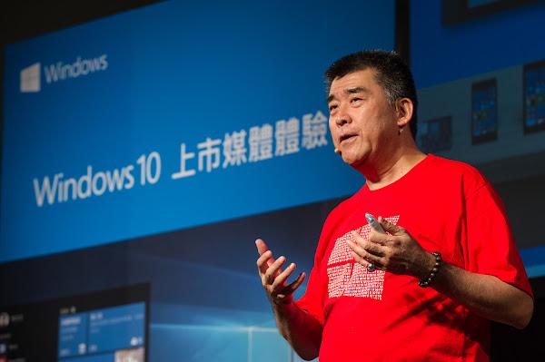 台灣微軟總經理邵光華