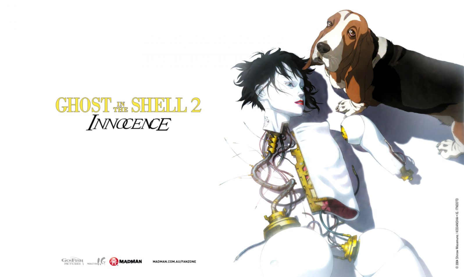 Ghost In The Shell 2 Innocence Wallpapers Wallpapers Engine