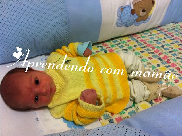 casaquinho de bebê, bebê, tricô, Lã Cisne Super Bebê, casaquinho para Recém nascido, Ponto meia, Ponto tricô, Ponto barra 1 tricô, casaquinho bicolor, criança, mamãe