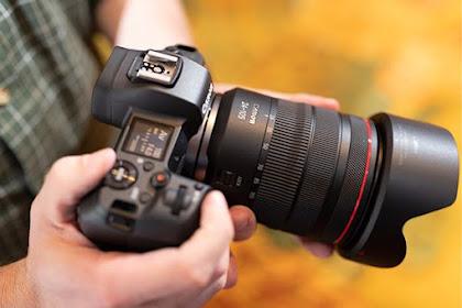 Mirrorles full-frame Canon EOS R