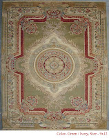 Hand-knotted woolen carpets for hotels