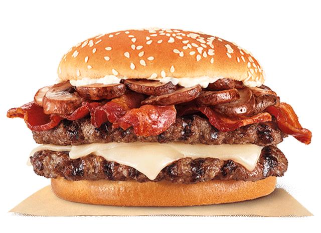 Burger King Debuts New Mushroom Swiss