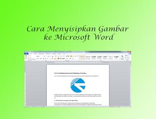 menambahkan gambar ke ms word
