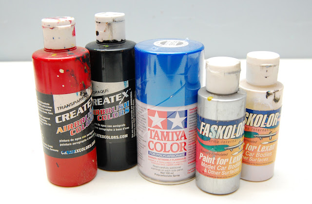 Lexan compatible paints