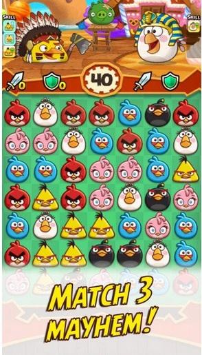 Angry Birds Fight! v2.5.5 Apk Mega Mod