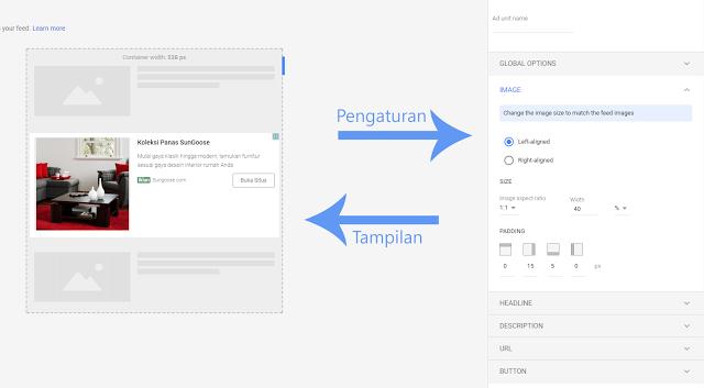 Tutorial Menambah Iklan In-Feed Google Adsense