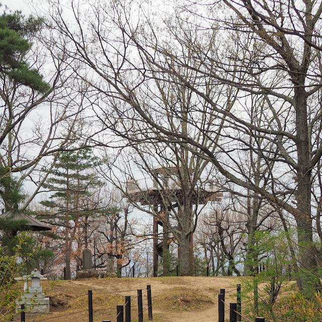 松本 城山公園 展望台