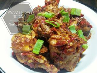 Resep Ayam Sambal Terasi Ala Rumahan By @dapurwafda