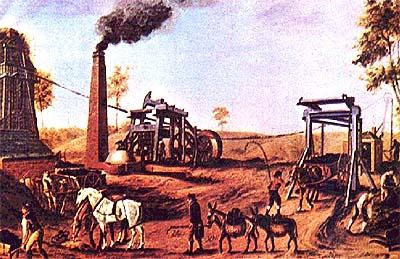 Revolução Industrial e Mecanização Industrial (XVIII)