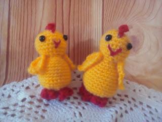 Схема вязаного цыпленка в яйце