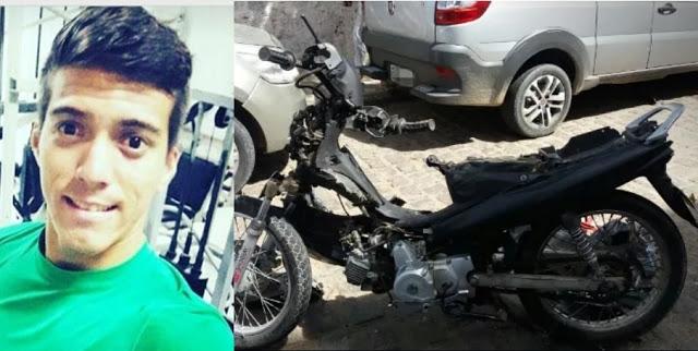 Jovem morre em acidente na Avenida Sete de Setembro, em Petrolina - Notícias Policiais Portal SPY
