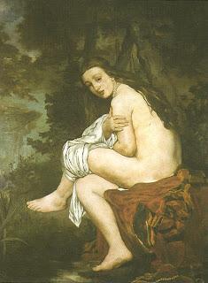 """A Ninfa Surpreendida"", Manet"