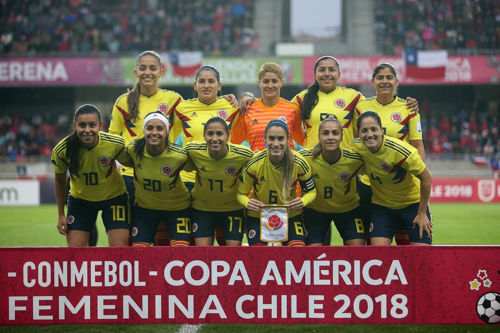 Formación de selección de Colombia ante Chile, Copa América Femenina 2018, 19 de abril