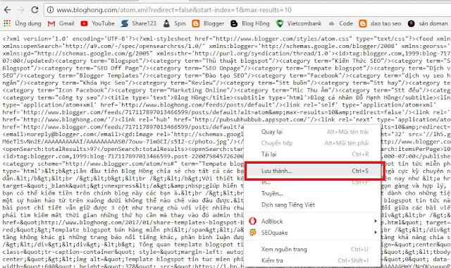 Cách lấy data (dữ liệu, bài viết) của blog khác dễ như cho