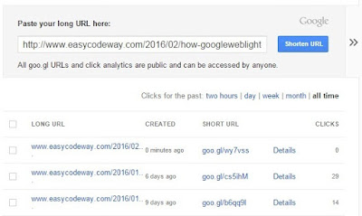 Paste Your Long URL