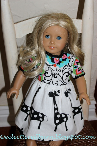 American Girl Giraffe Dress