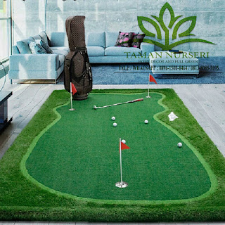 JUAL RUMPUT SINTETIS GOLF | MINI GOLF INDOR | MINI GOLF OUTDOOR