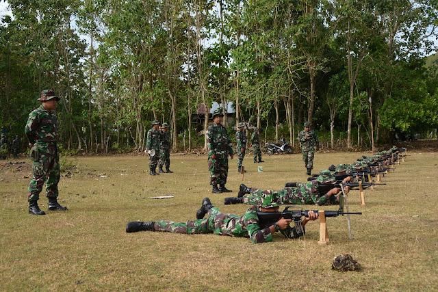 Asa Kemampuan dan Ketangkasan Tembak Personelnya, Kasrem 141/Tp Awasi Langsung Giat Menembak