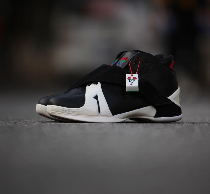 innovative design a8c1e 9f610 Adidas will be retroing the T-Mac 5 and they decided to bring it back on Chinese  New Year. Black with white accents can be seen on the images which is fine  ...