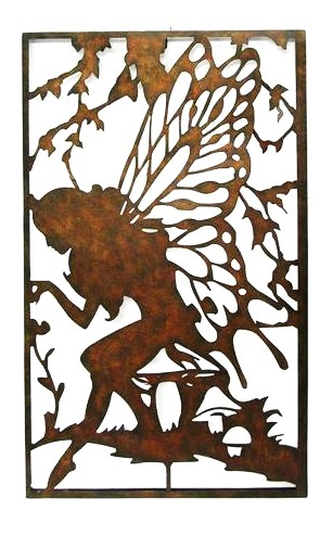 Welcome to Inspire on the Danforth!: Fairy Silhouette Metal Wall ...