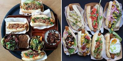 Hot Dogs vegetarianos, un clásico para niños en Artemisia Restaurante