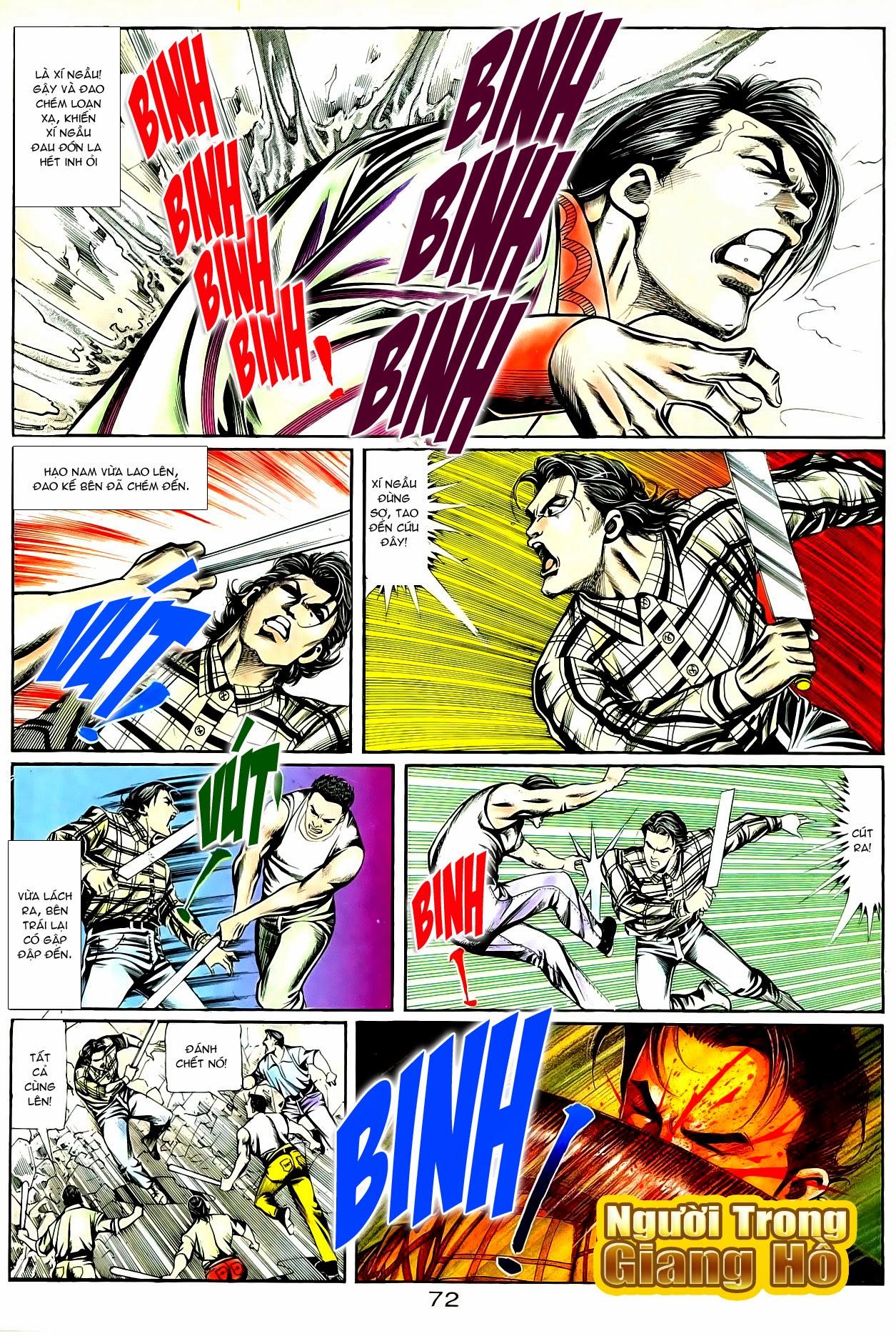 Người Trong Giang Hồ chapter 90: giang hồ hiểm trang 8