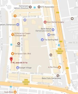 location map sugatori desert cafe