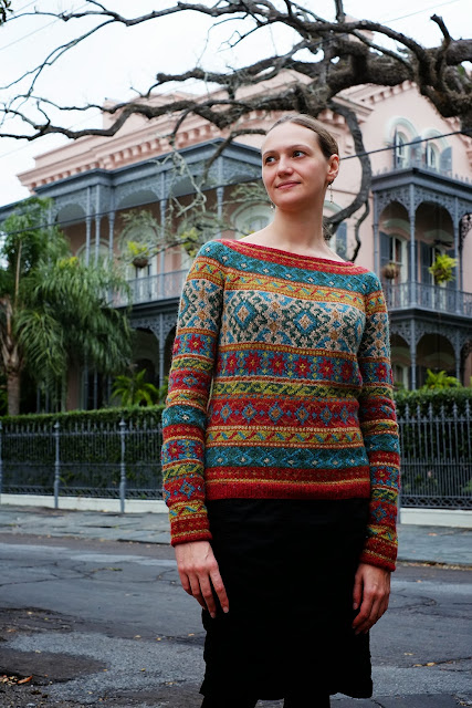 Anatolia by Marie Wallin from Rowan Magazine 54, knit by Dayana Knits