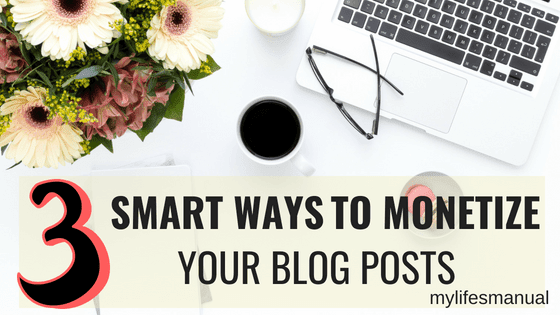 monetize your blog posts fast