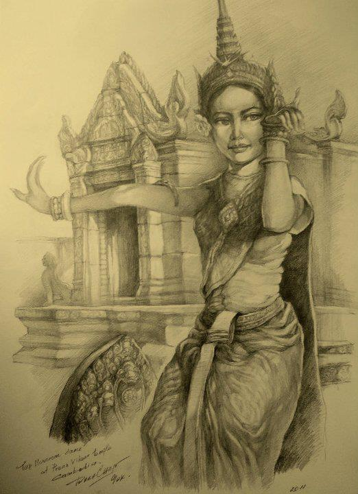 khmer apsara pictures - 522×720
