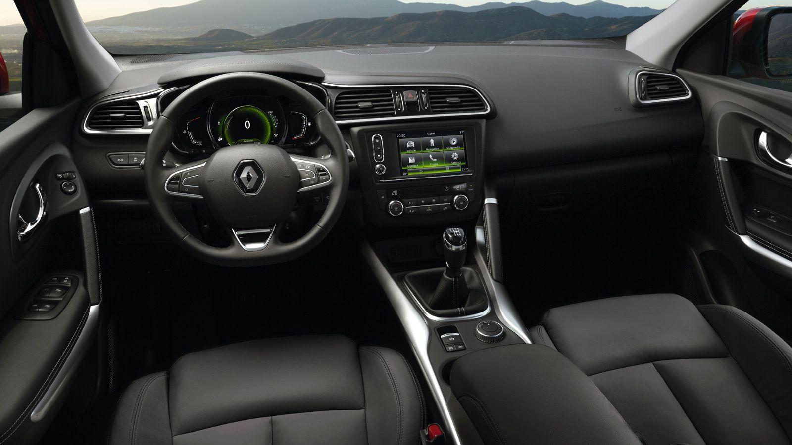 Renault%2BKadjar interior Σήμερα στην αυτοκίνηση ο Cambiasso θα δει από κοντά το νέο Renault Kadjar