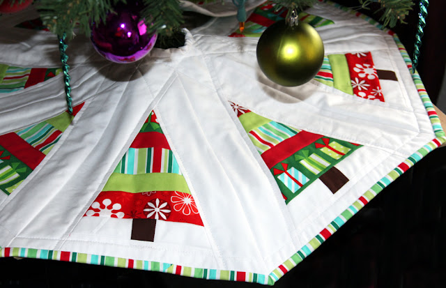 Made By Cola Christmas Tree Skirt