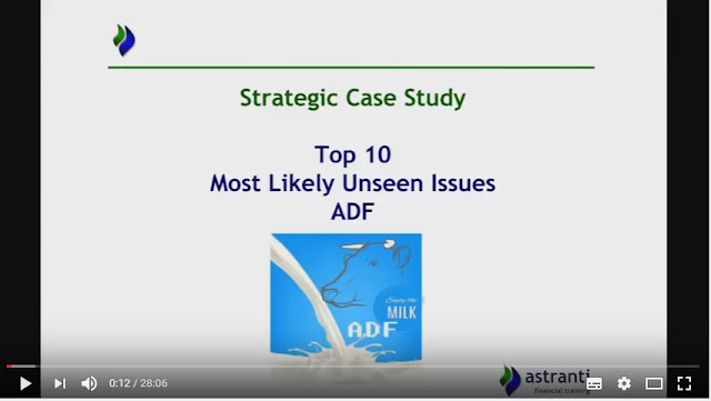 Top 10 issues for SCS - November 2016 - ADF - CIMA Strategic case study