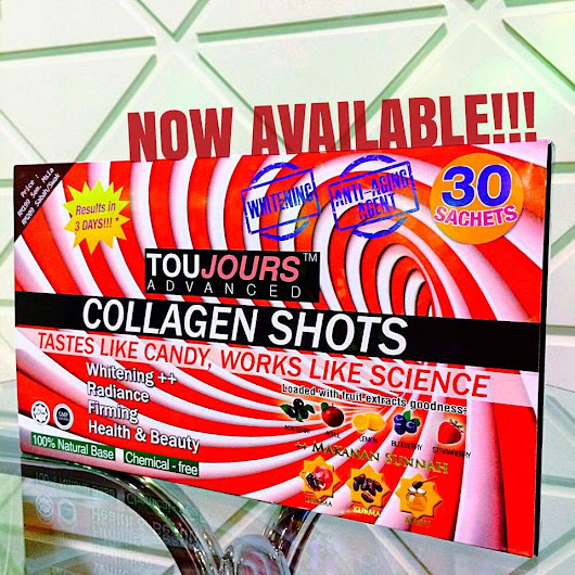 Agen Jualan Toujours Advanced Collagen Shot Sabah
