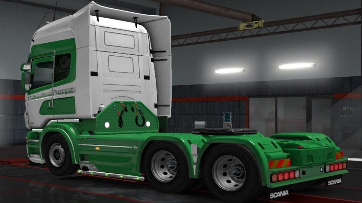 Scania RJL PPT International Skin