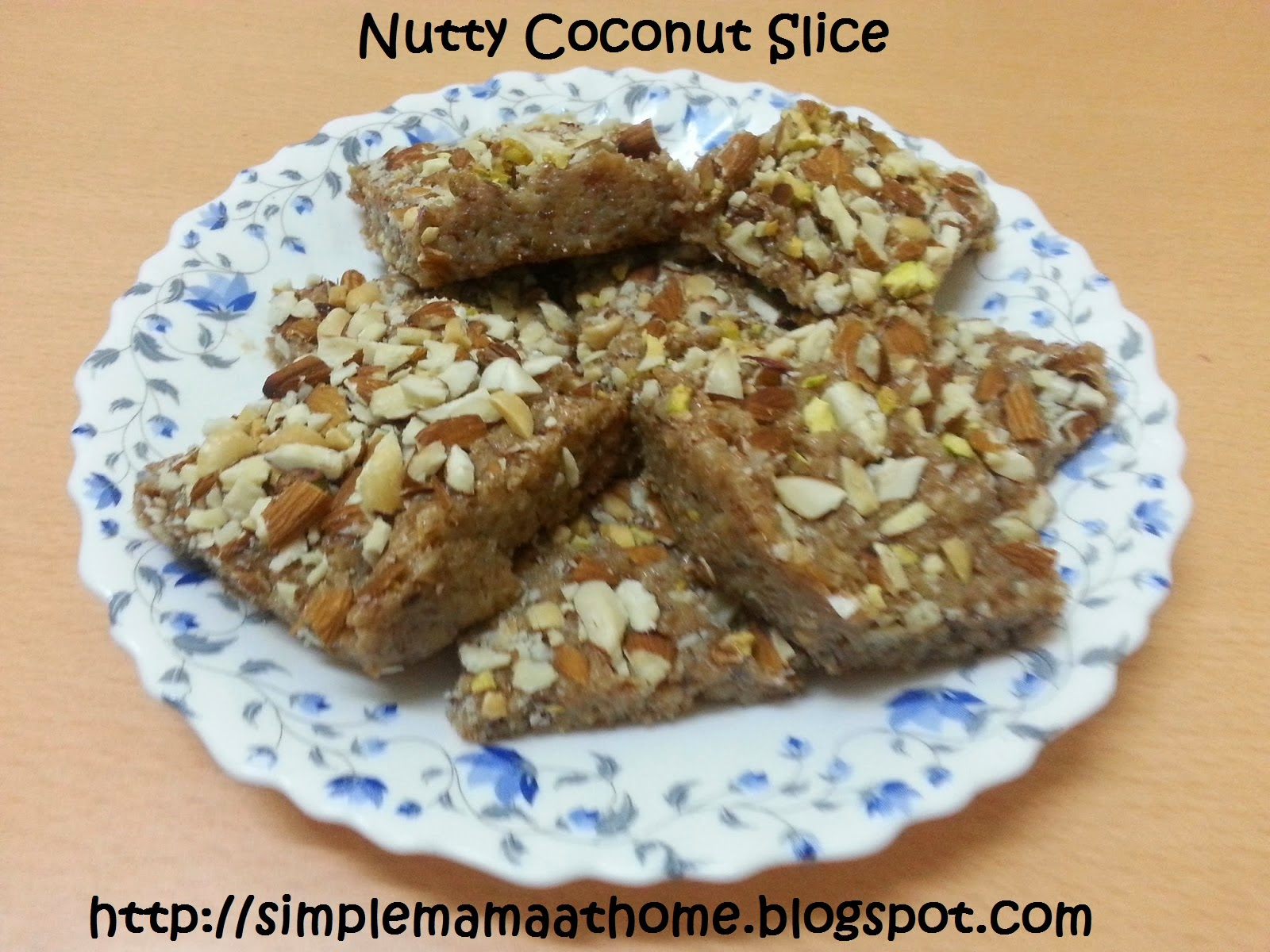 Nutty Coconut Slice