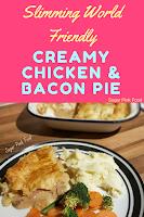 Slimming World creamy chicken pie recipe